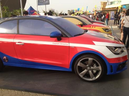 Audi's super-hero themed rides.